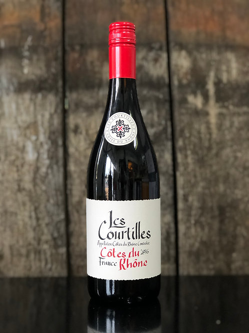 Les Courtilles Coates Du Rhone, 2016 750mL