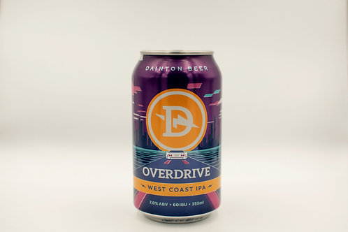 Dainton Overdrive West Coast IPA Cans 355mL
