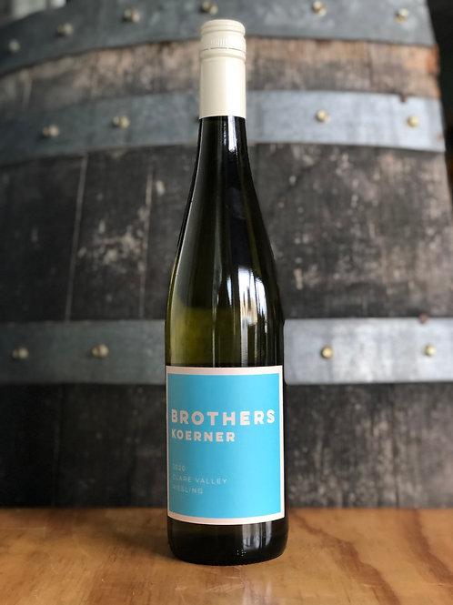 Brothers Koerner Riesling, 2020, Clare Valley, 750mL