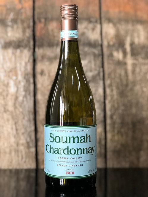 Soumah Chardonnay, Yarra Valley, 2018 750mL
