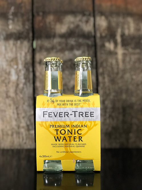 Fever-Tree Premium Indian Tonic Water Bottles 200mL