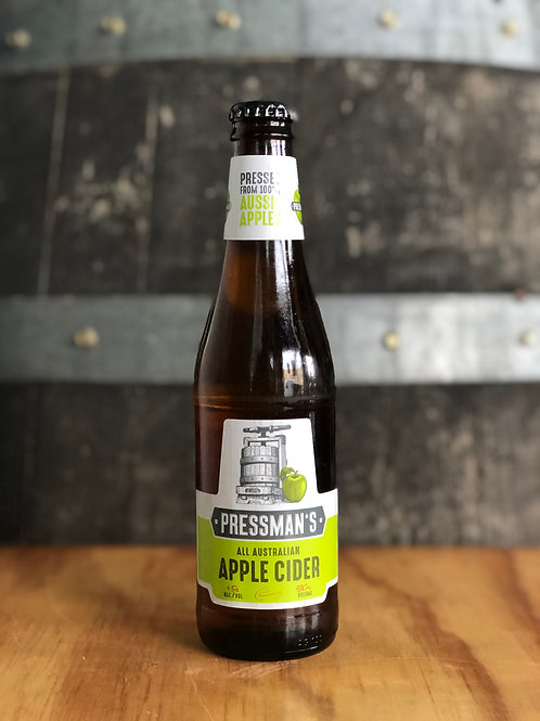 Pressman's - Original All Australian Apple Cider Bottles, 330mL