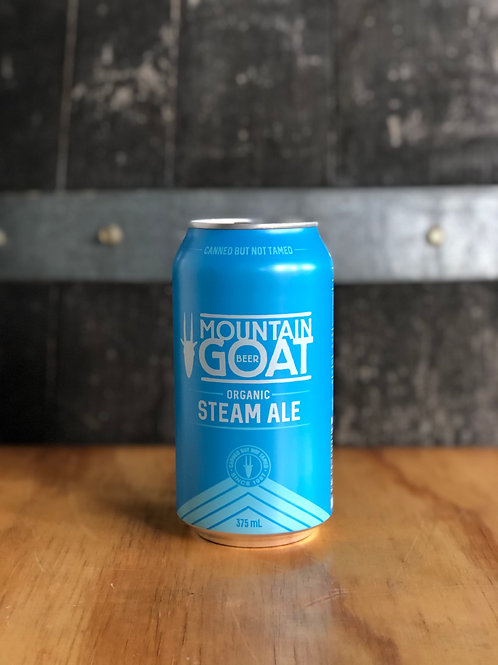 Mountain Goat Organic Steam Ale, 375mL