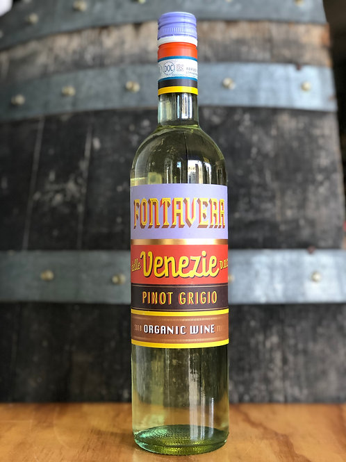 Fontavera Organic Pinot Grigio, 2018, 750mL
