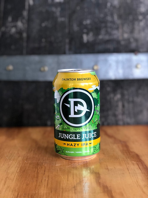 Dainton Brewery - Jungle Juice Hazy IPA, Cans 355mL