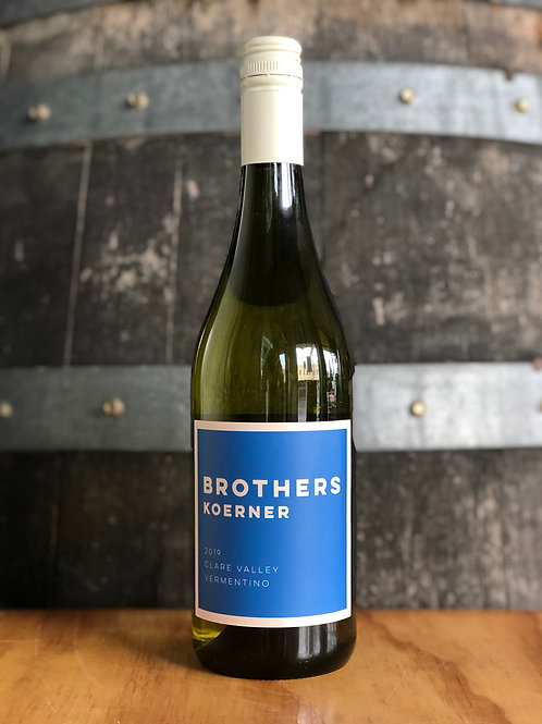Brothers Koerner Vermentino, Clare Valley, 2019, 750mL