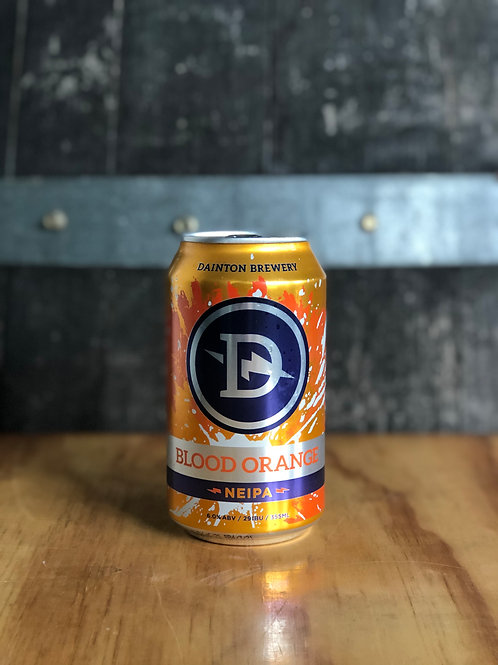 Dainton Brewery - Blood Orange New England Rye IPA Cans, 355mL