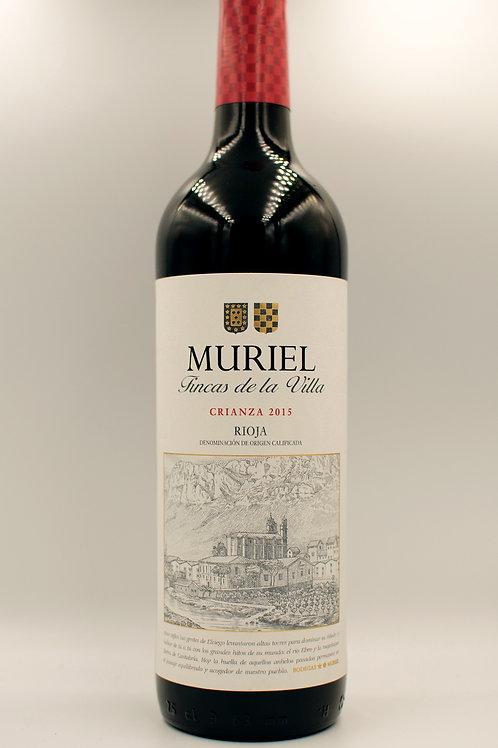 Muriel Crianza Rioja 2015 750mL