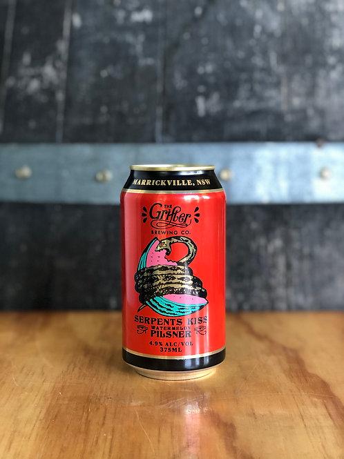 Grifter Brewing Co. - Serpents Kiss Watermelon Pilsner, Cans 375mL