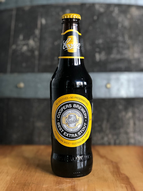 Coopers Best Extra Stout Bottles, 375mL