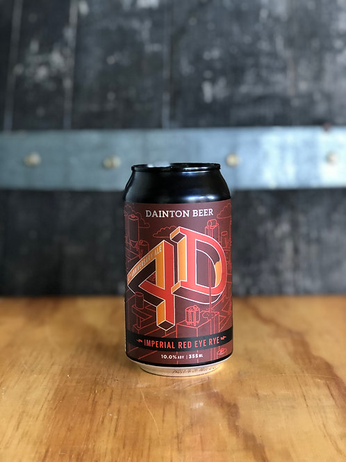 Dainton Brewery - 4D Imperial Red Eye Rye, 355mL