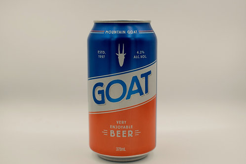 Mountain Goat Lager Beer Cans 375mL