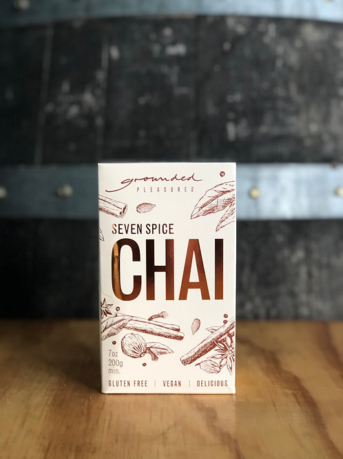 Grounded Pleasures - Seven Spice Chai, 200g