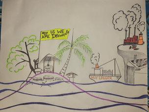 'My Drowning Island' by Gleason Puiahi