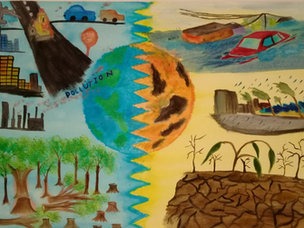 'Negative Effects of Climate Change on Human Rights by Yashmeet Kuar Singh