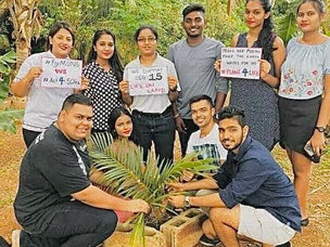 'Plant for Life By Youth in Action' by Ashnal Bhawik Chand