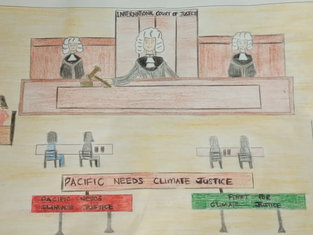 'Fighting for Climate Justice' by Fayth Muliaina