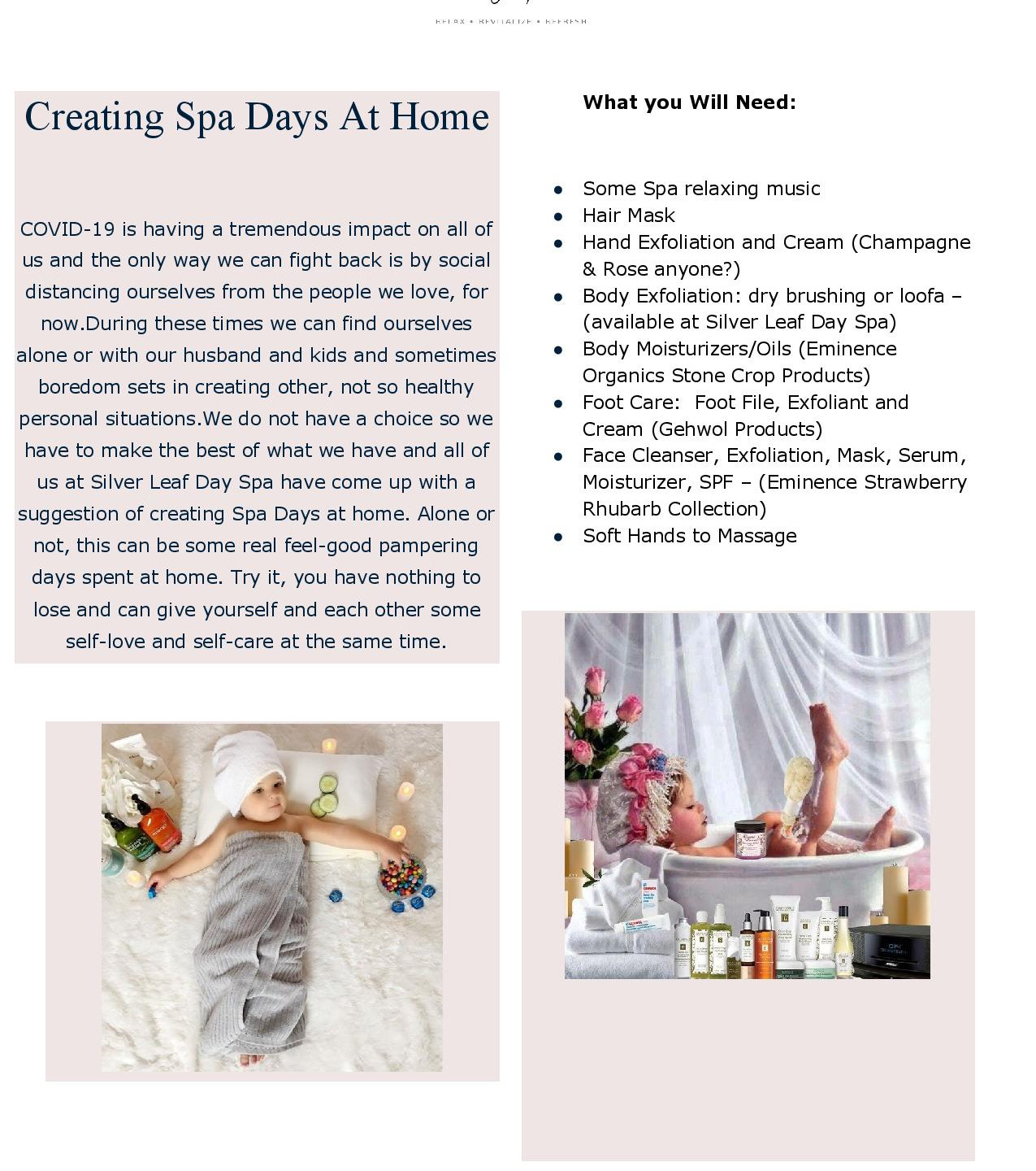 Creating Spa Days At Home-page-001