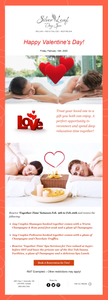 Happy Valentine's Day Spa Promotion