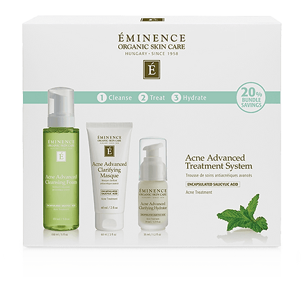Eminence Organics Acne Advanced Treatment System