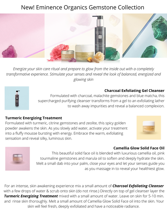 New Eminence Organics Collection Available now