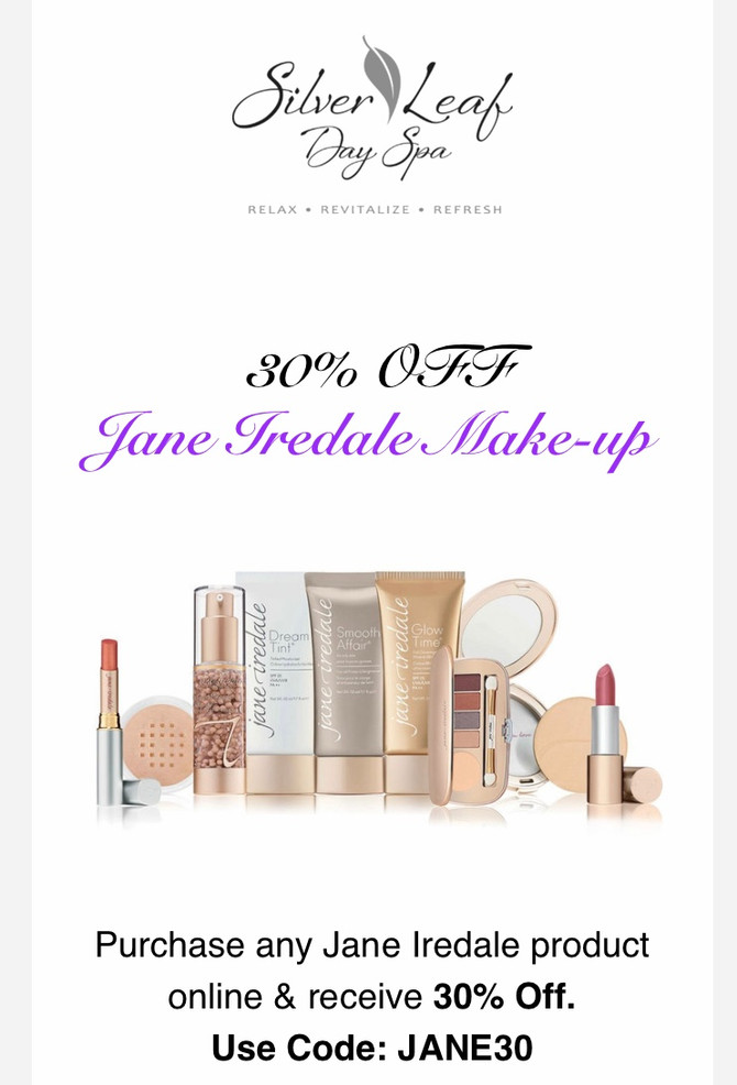 30% OFF Jane Iredale Online
