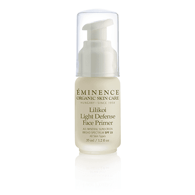 Eminence Organics - Lilikoi Light Defense Face Primer SPF 23