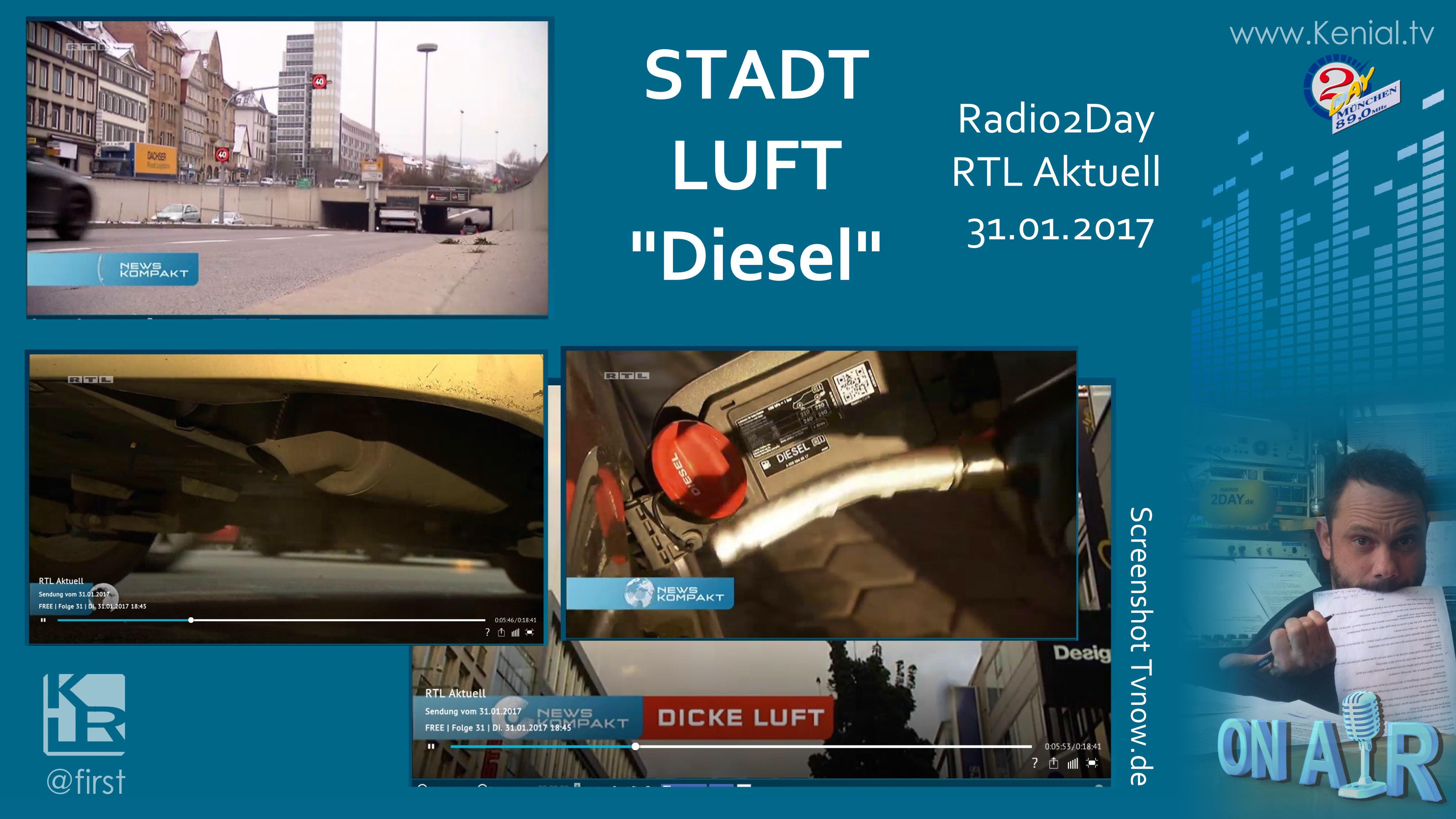 Stadtluft schlecht - Diesel Autos