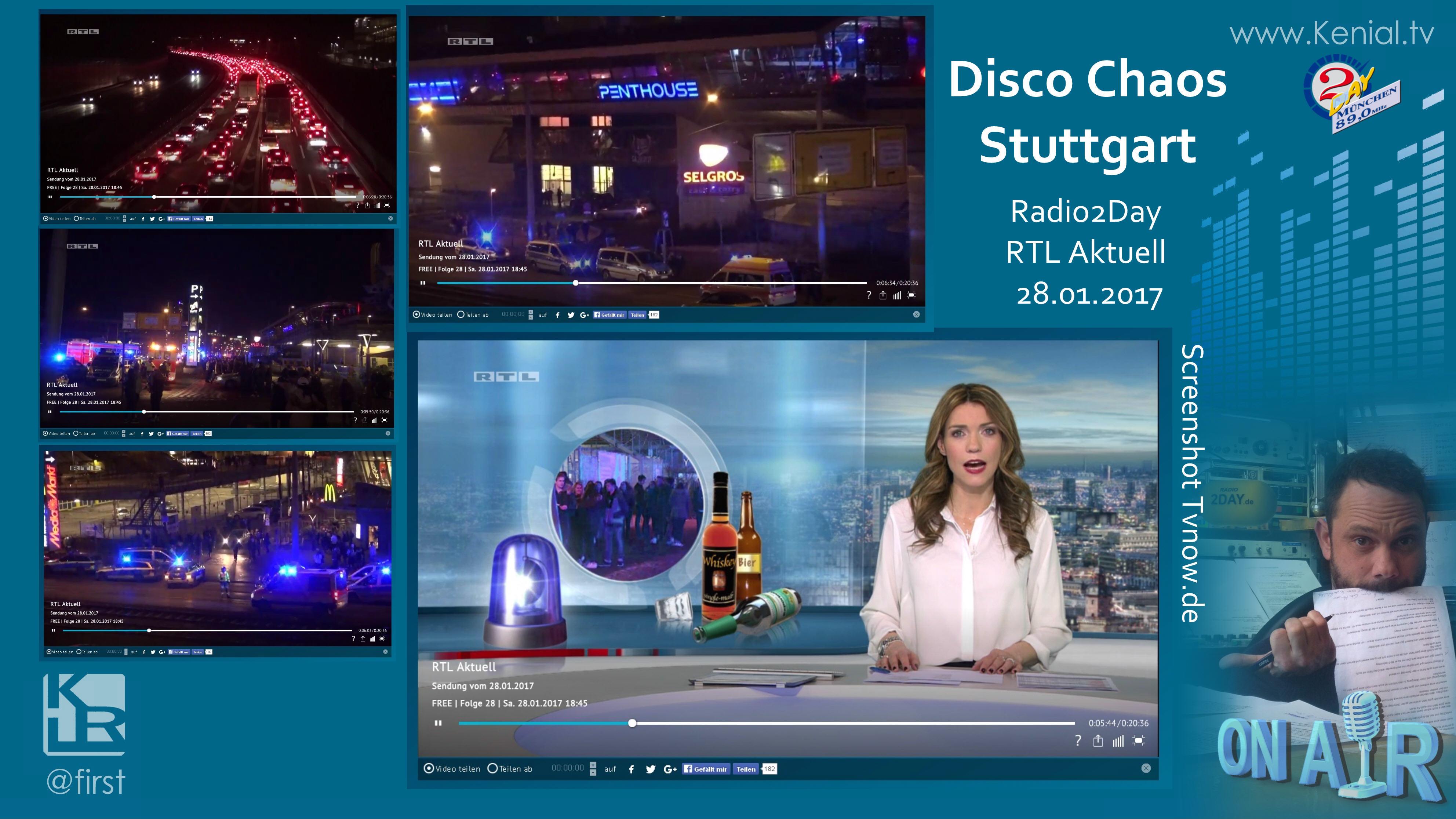 Disco Chaos in Stuttgart