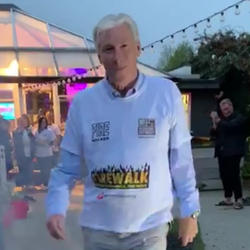 Walking through fire to raise funds for International Refugee Trust