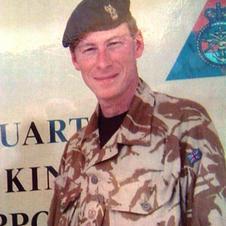 Taking command of the UK NSE, Iraq.