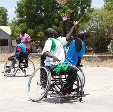Landmine victims - South Sudan.