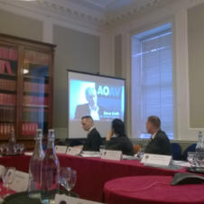 Chatham House - on screen.