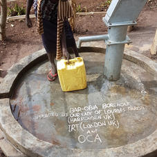 Freshwater borehole.