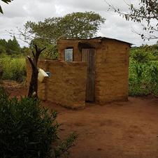 Household lavatory.