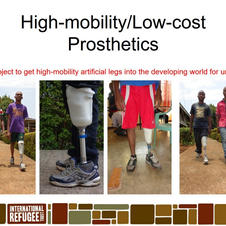 High-mobility/low cost prosthetics