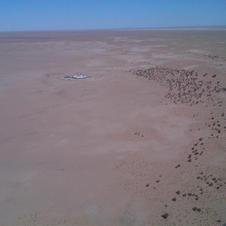 UN base inside Western Sahara