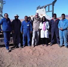 Minefield clearance team - Western Sahara