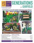 Garfield LPI newsletter cover Sept 2018.