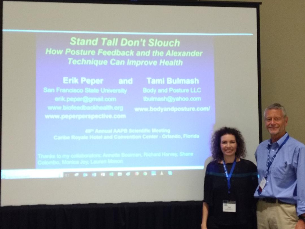 Dr. Erik Peper and Tami Bulmash