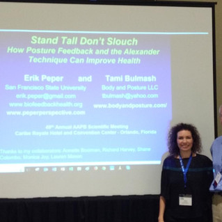 Stand Tall Don't Slouch: How Posture Feedback and the Alexander Technique Can Improve Health