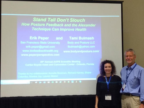 Stand Tall Dont Slouch Tami and Erik pic