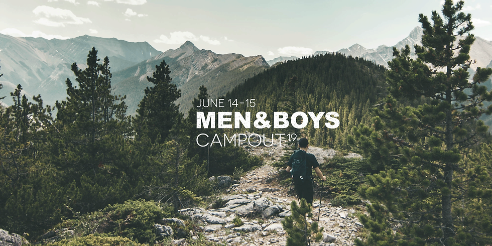 Men and Boys Campout