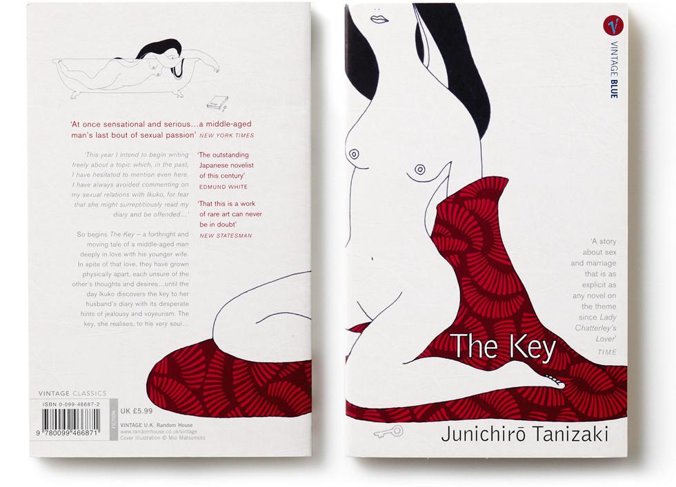 Junichiro Tanizaki Book Cover | mio.matsumoto