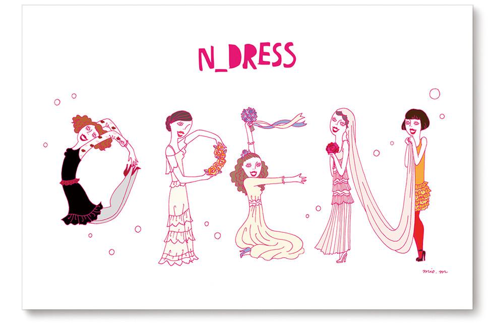 N_DRESS Website & DM | mio.matsumoto