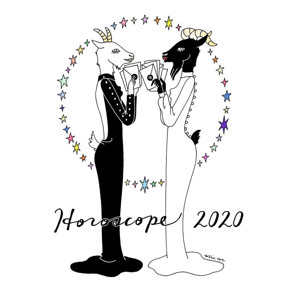 GINZA horoscope2020 | mio.matsumoto