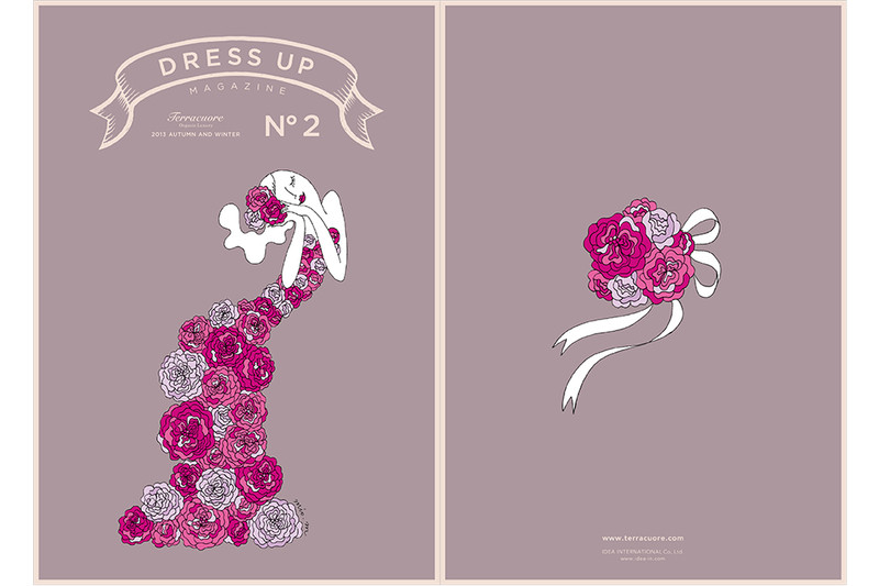 Terracuore DRESS UP magazine No.1-4 | mio.matsumoto