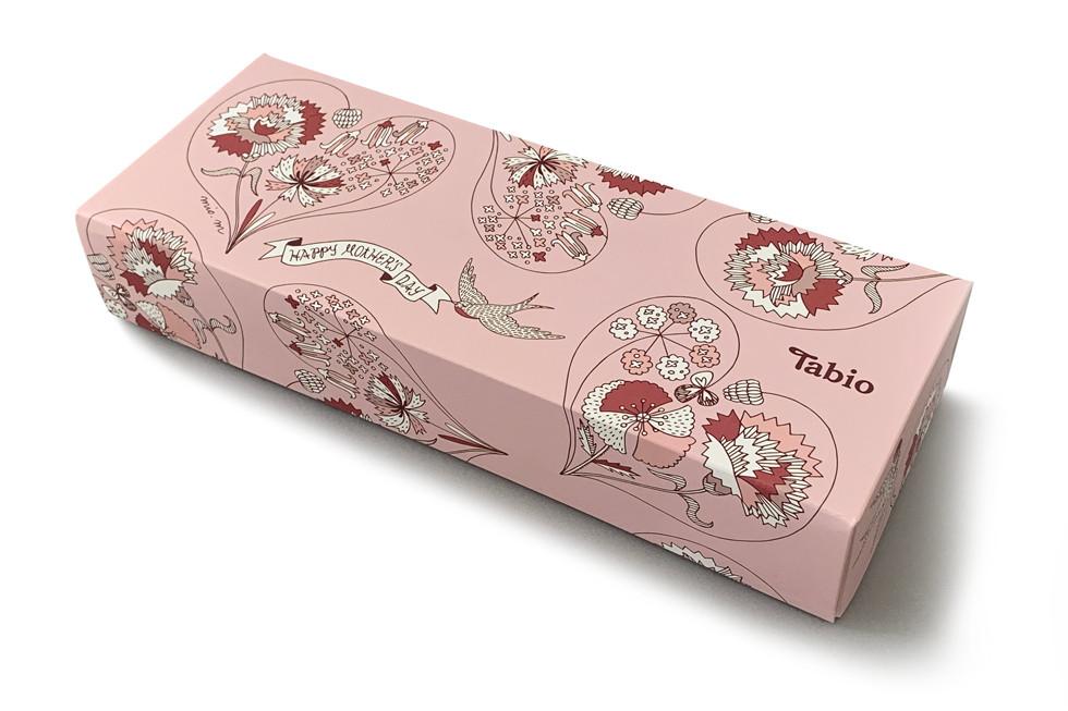 Tabio Mother's day campaign | mio.matsumoto