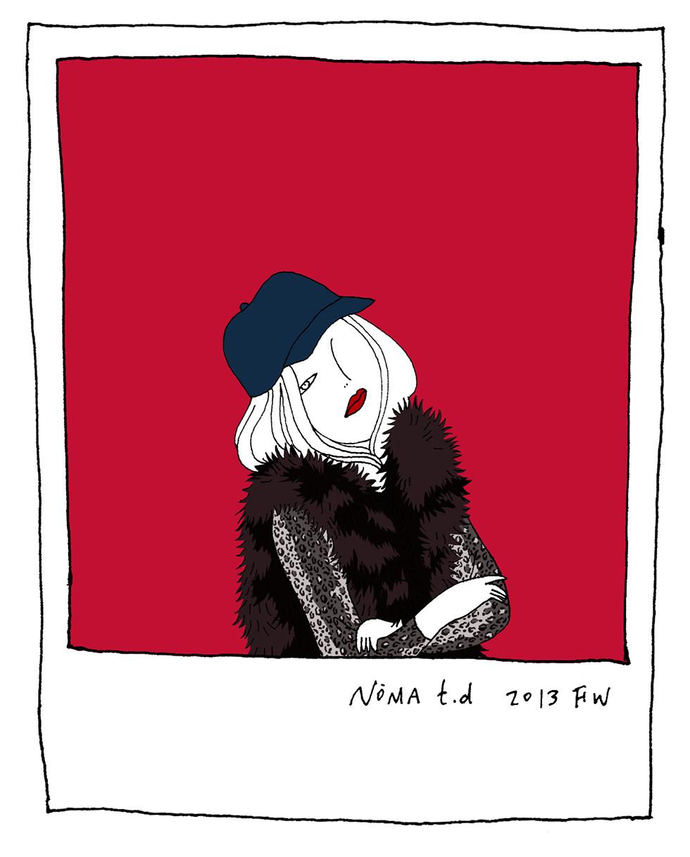 NOMA t.d. animation drawing | mio.matsumoto