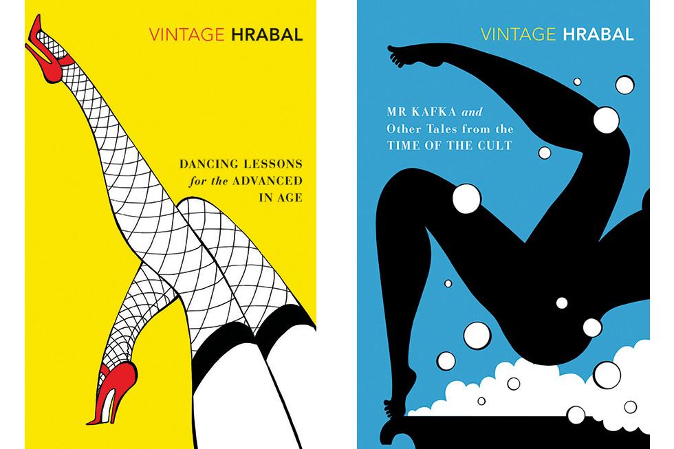 Bohumil Hrabal Book covers | mio.matsumoto